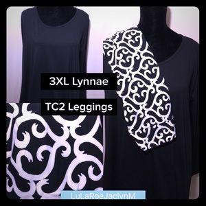 LuLaRoe Outfit 3XL Lynnae & TC2 Leggings